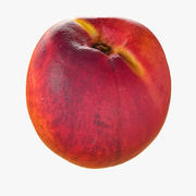Tropical Realistic Nectarine 3d model