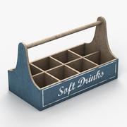 Caisse de boissons 3d model