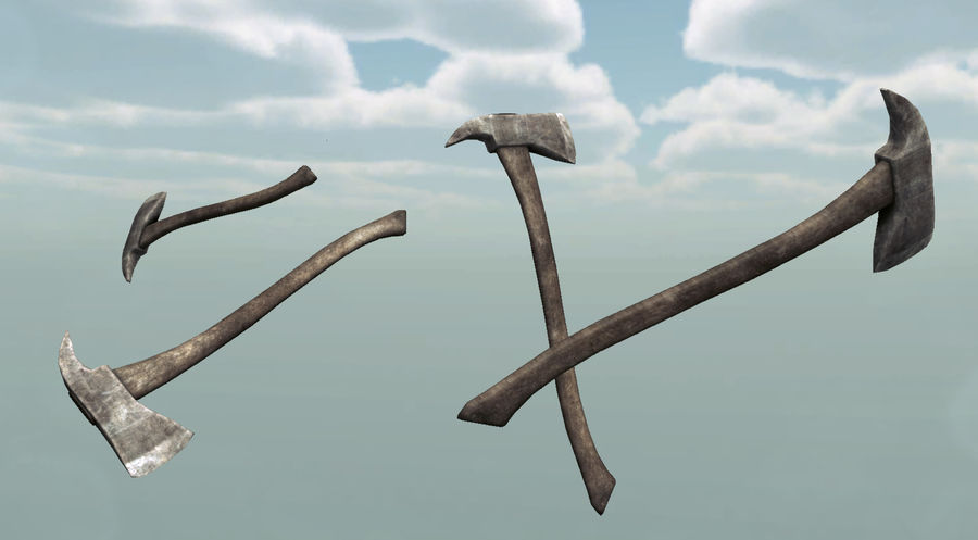 Axe royalty-free 3d model - Preview no. 4