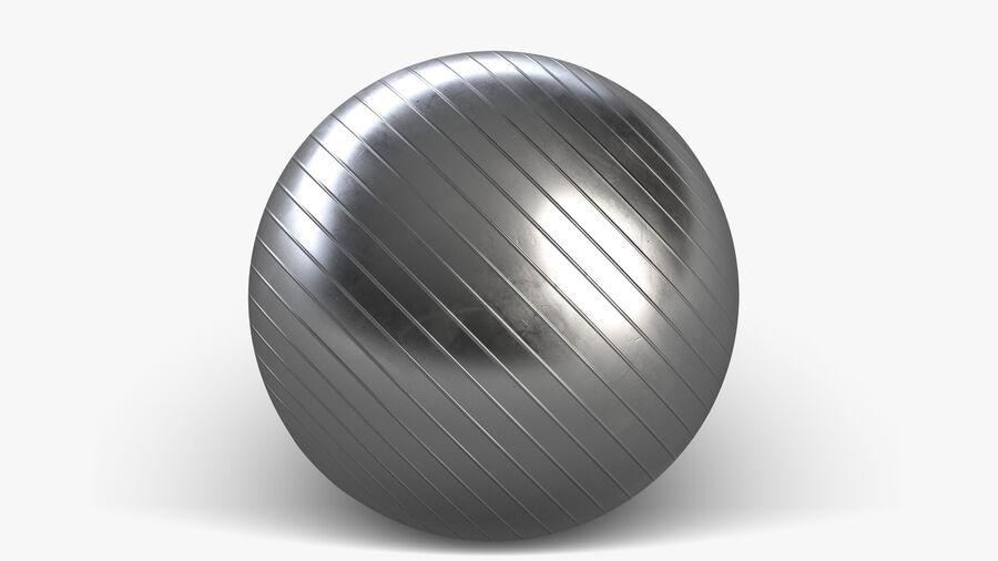 Balle de gymnastique anti-éclatement royalty-free 3d model - Preview no. 6
