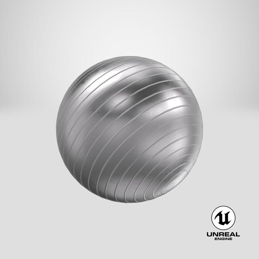 Balle de gymnastique anti-éclatement royalty-free 3d model - Preview no. 19