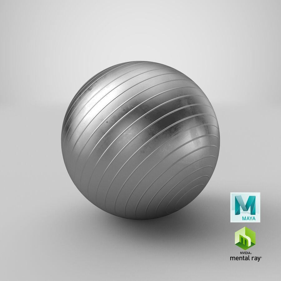 Balle de gymnastique anti-éclatement royalty-free 3d model - Preview no. 24