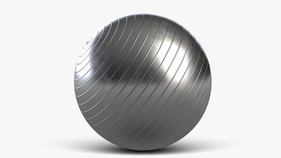 Balle de gymnastique anti-éclatement royalty-free 3d model - Preview no. 4
