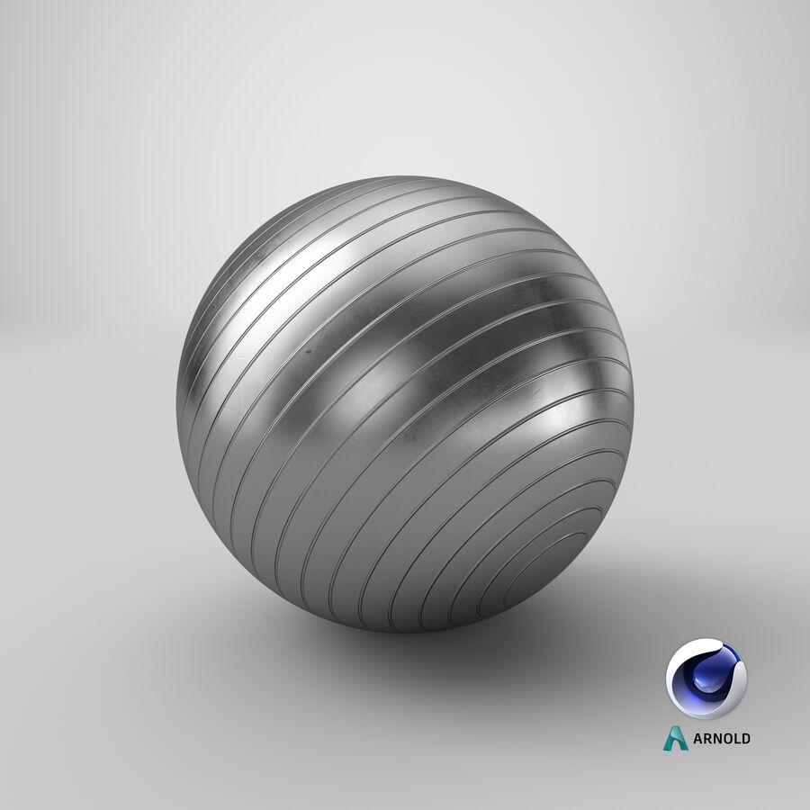 Balle de gymnastique anti-éclatement royalty-free 3d model - Preview no. 17