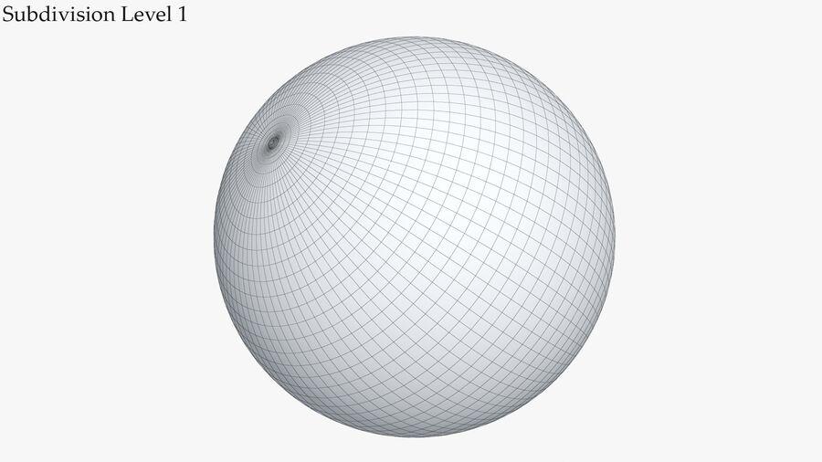 Balle de gymnastique anti-éclatement royalty-free 3d model - Preview no. 11