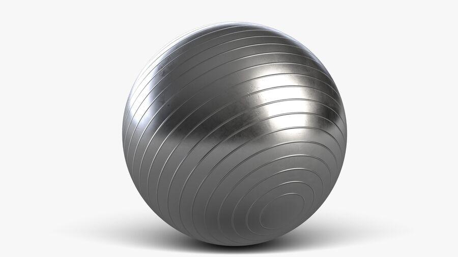 Balle de gymnastique anti-éclatement royalty-free 3d model - Preview no. 5