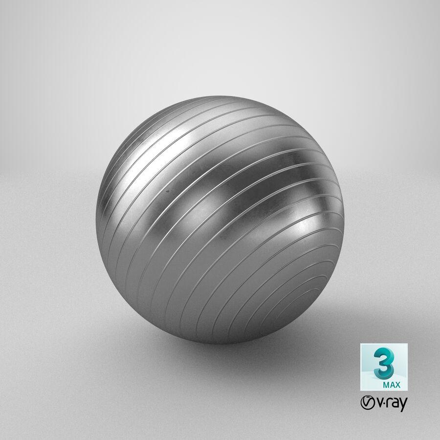 Balle de gymnastique anti-éclatement royalty-free 3d model - Preview no. 22