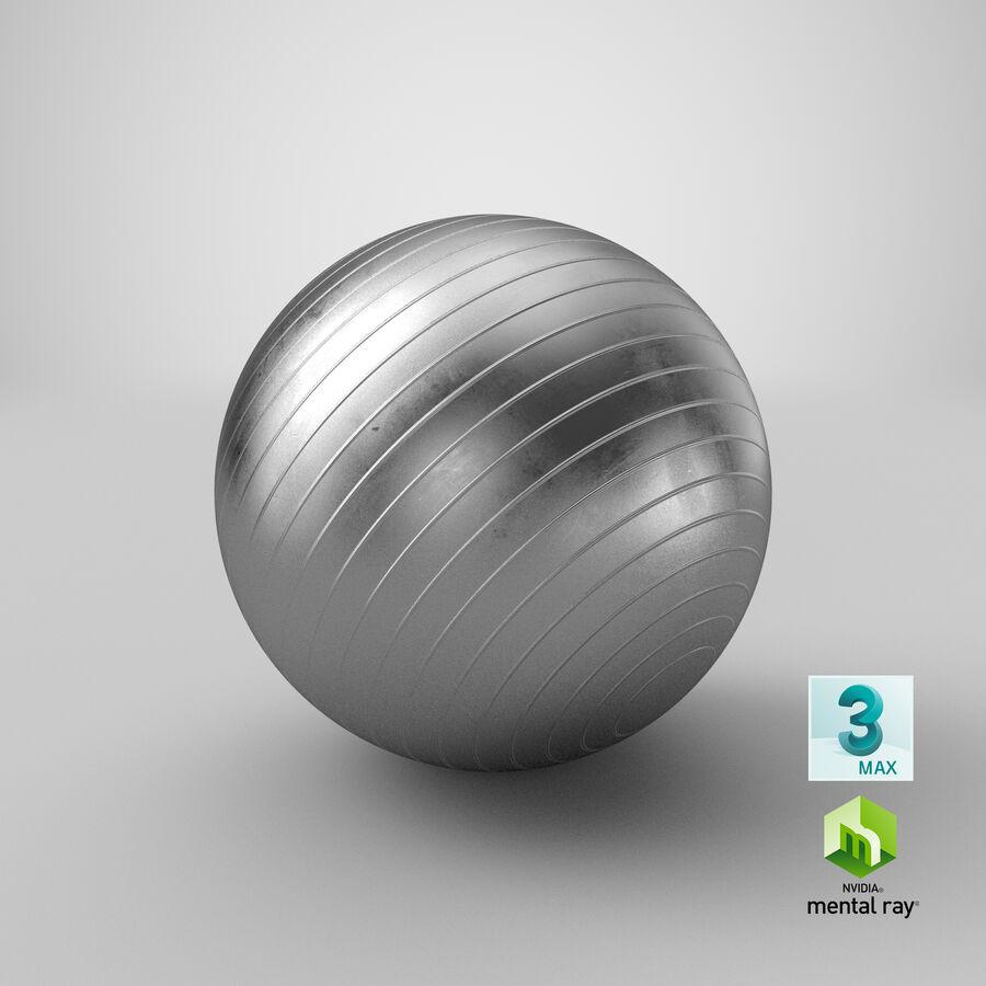 Balle de gymnastique anti-éclatement royalty-free 3d model - Preview no. 21
