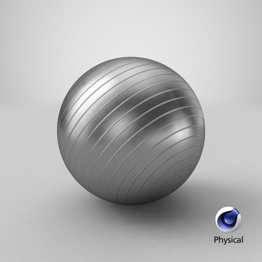 Balle de gymnastique anti-éclatement royalty-free 3d model - Preview no. 16