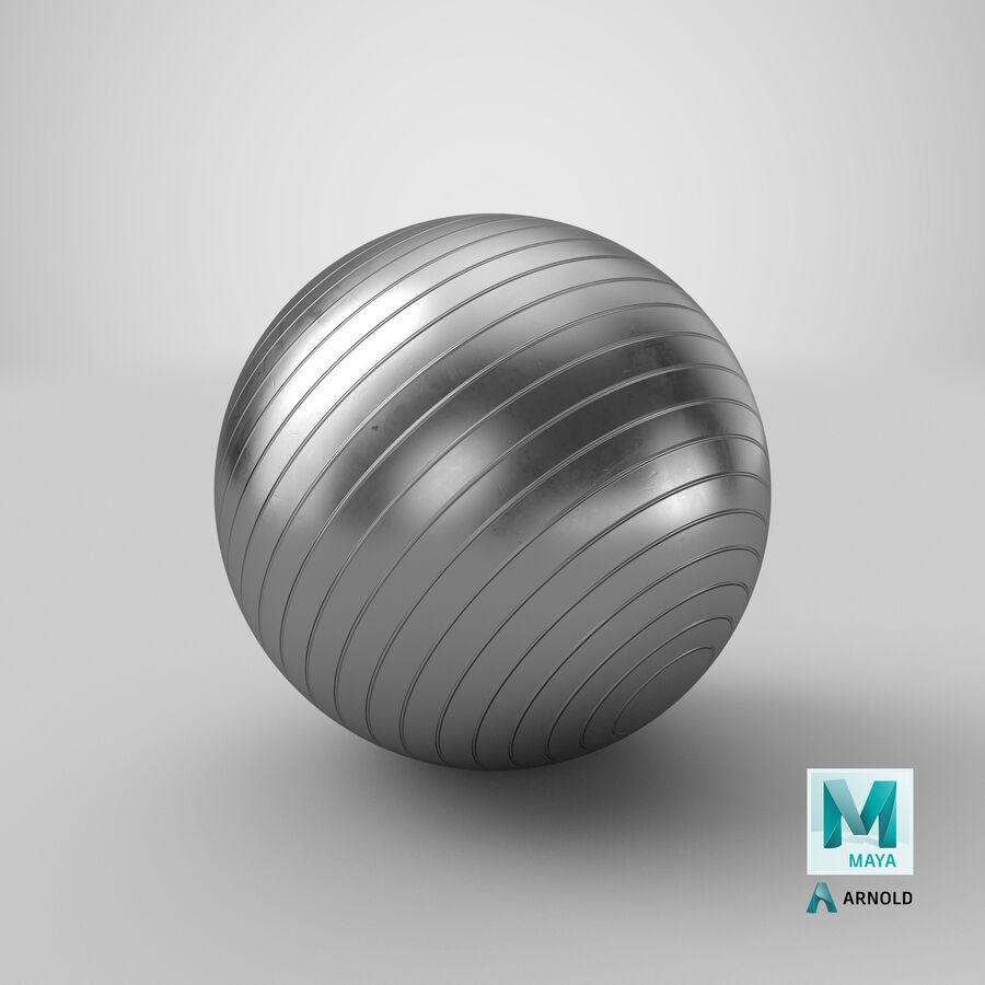 Balle de gymnastique anti-éclatement royalty-free 3d model - Preview no. 23