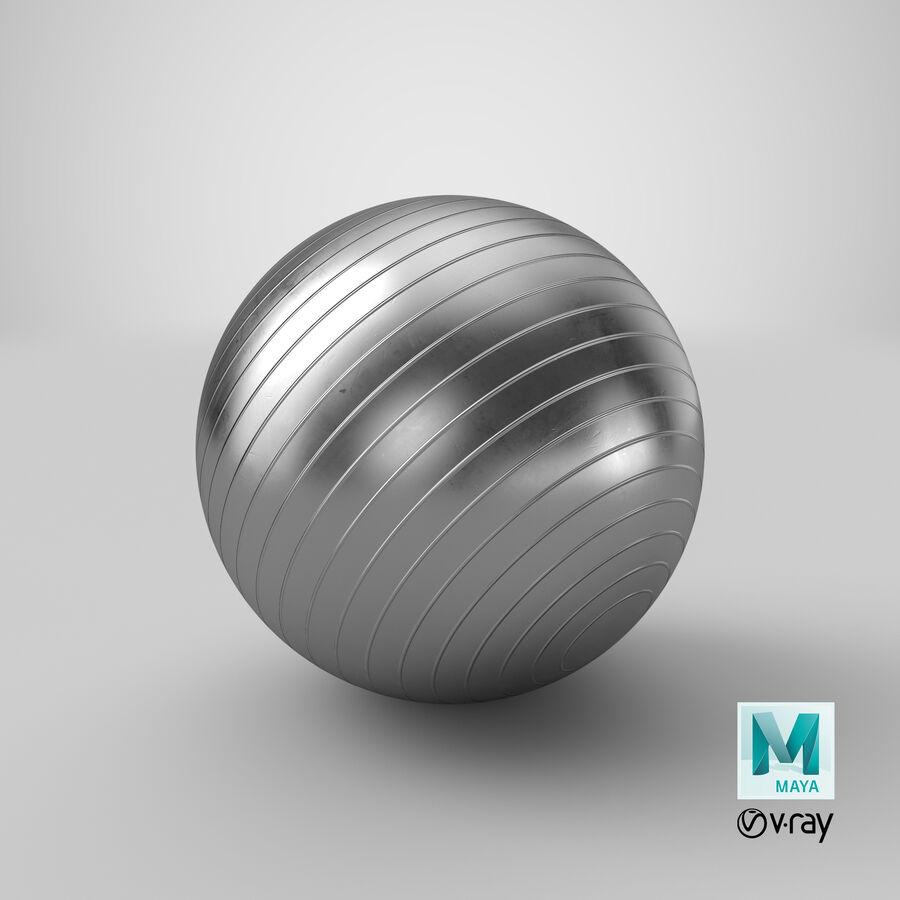 Balle de gymnastique anti-éclatement royalty-free 3d model - Preview no. 25