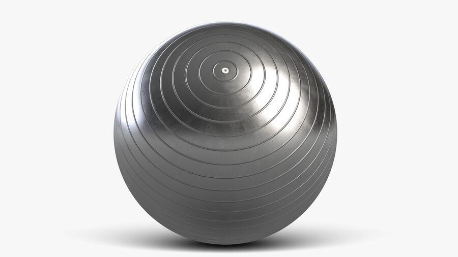Balle de gymnastique anti-éclatement royalty-free 3d model - Preview no. 3