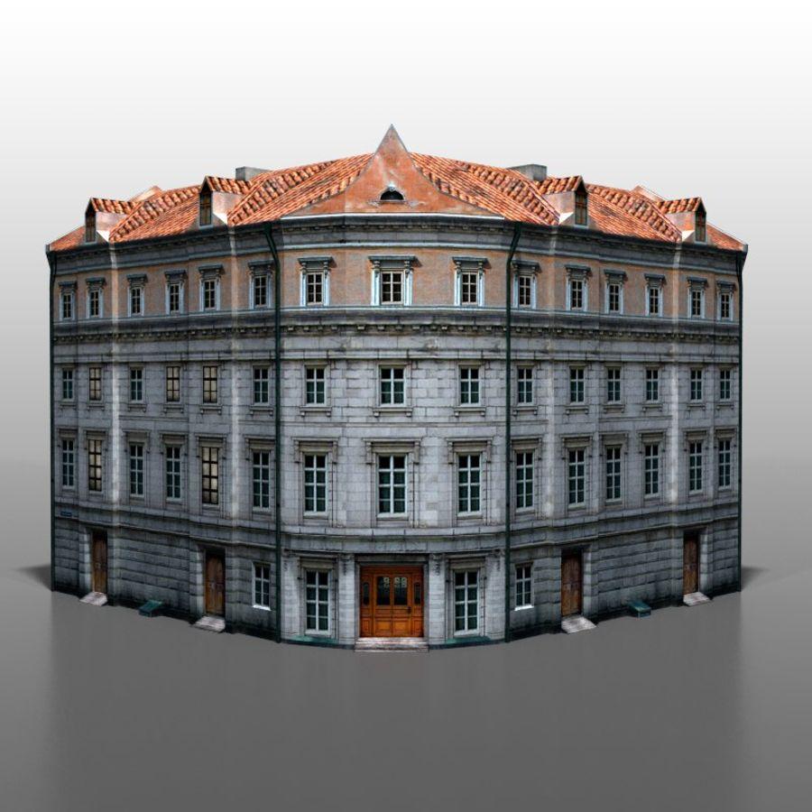 Polish house v9 royalty-free 3d model - Preview no. 2