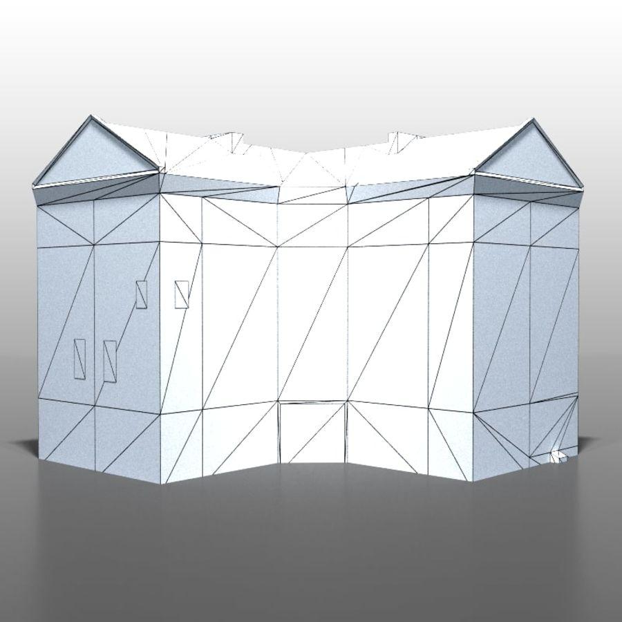 Polish house v9 royalty-free 3d model - Preview no. 11
