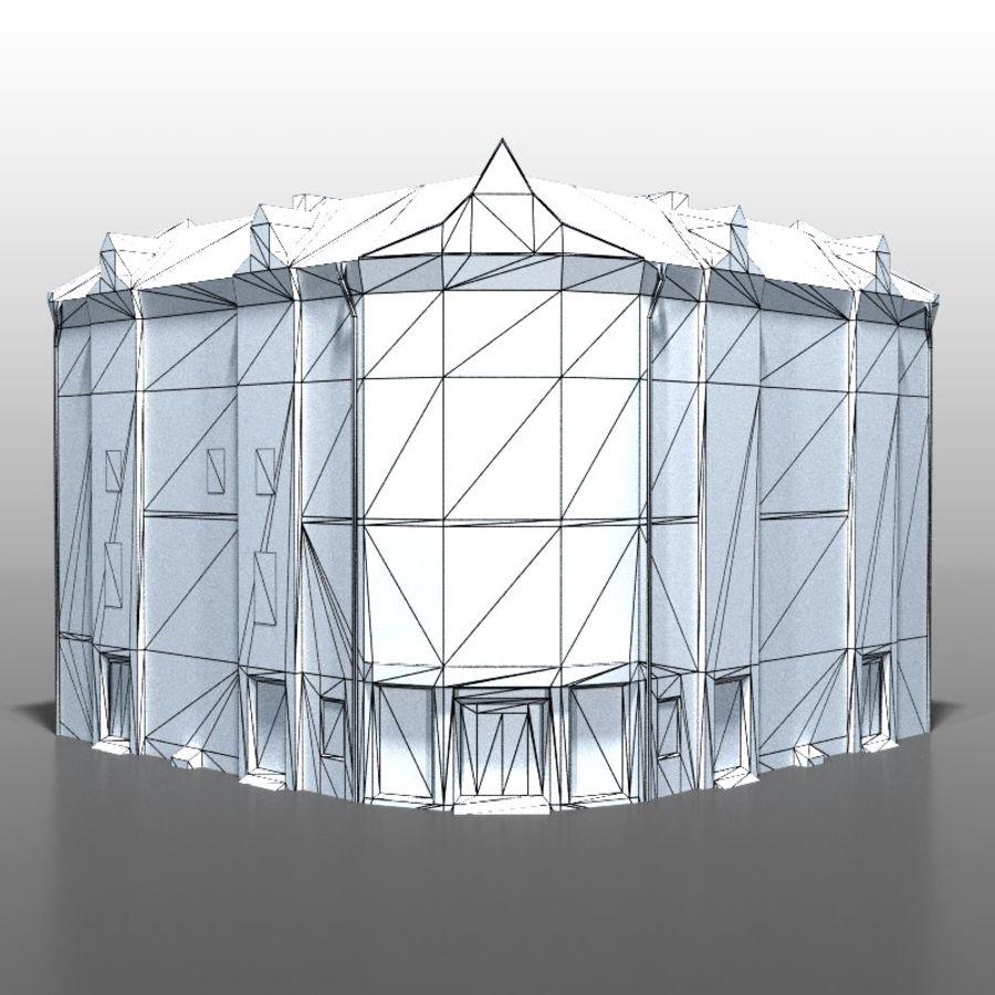 Polish house v9 royalty-free 3d model - Preview no. 8