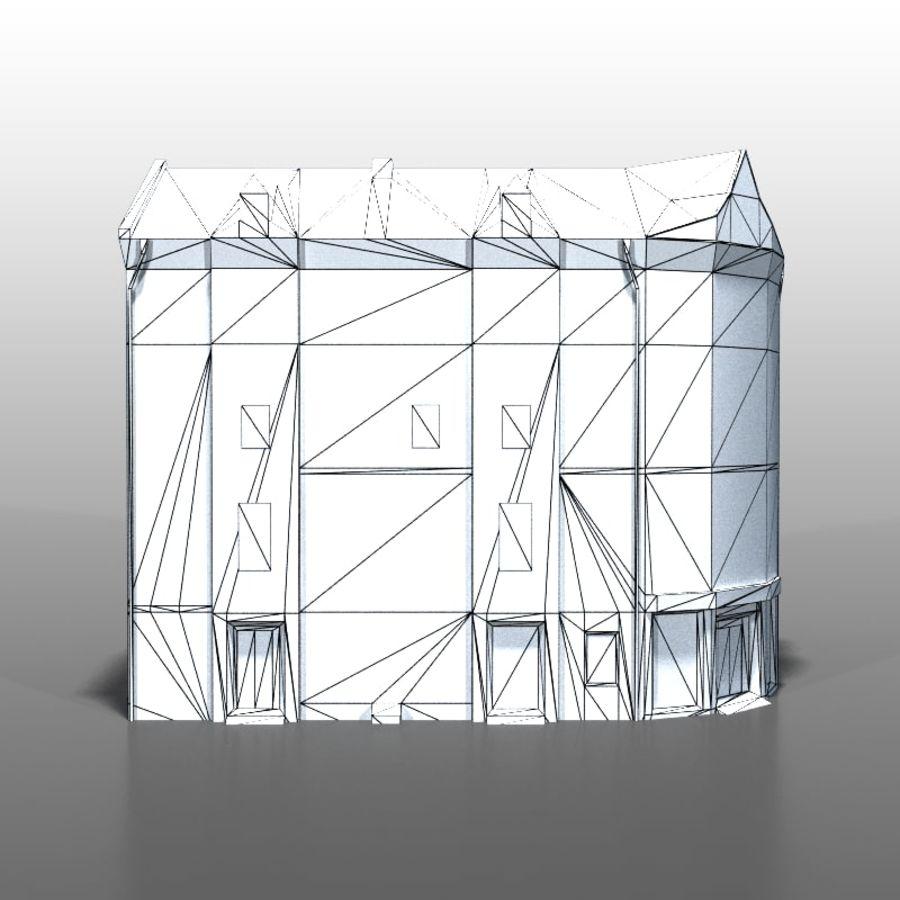 Polish house v9 royalty-free 3d model - Preview no. 7
