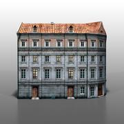 Pools huis v9 3d model