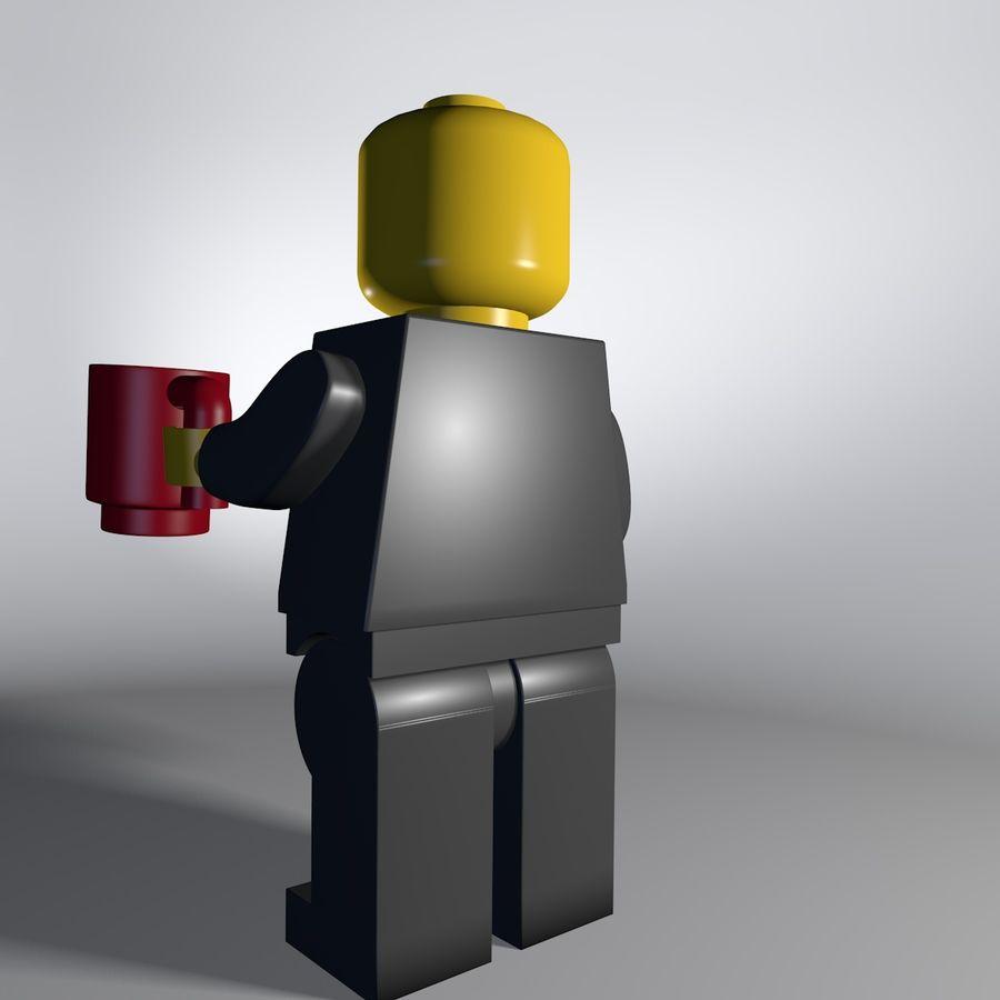 レゴキャラクター royalty-free 3d model - Preview no. 4