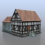 Duits huis v14 3d model
