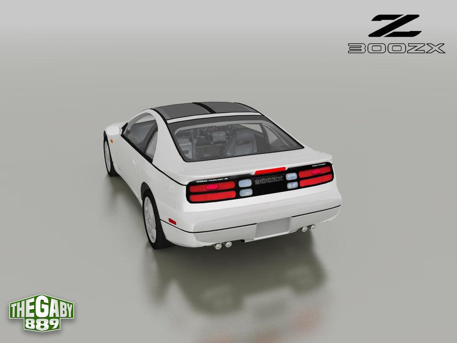 日产300 ZX royalty-free 3d model - Preview no. 4