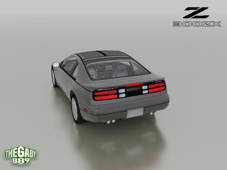 日产300 ZX royalty-free 3d model - Preview no. 10