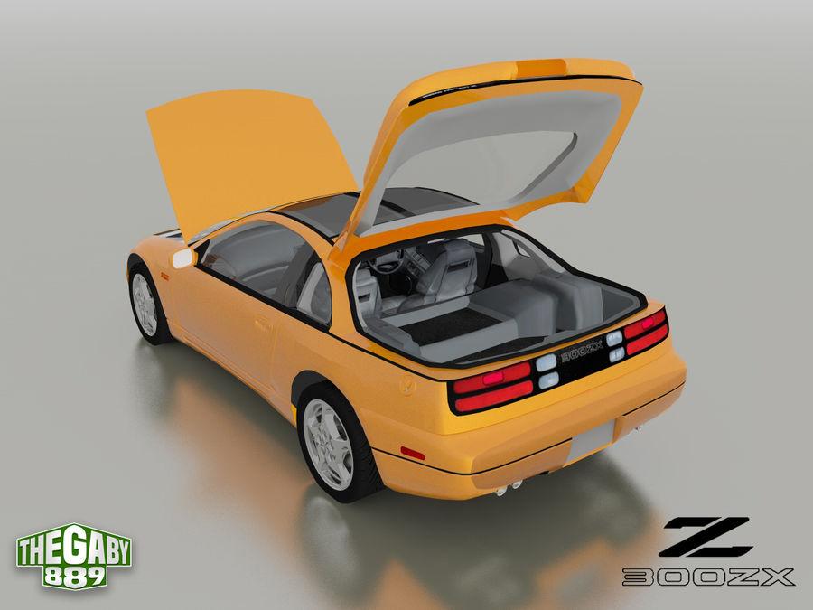 日产300 ZX royalty-free 3d model - Preview no. 14
