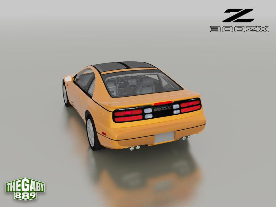 日产300 ZX royalty-free 3d model - Preview no. 12