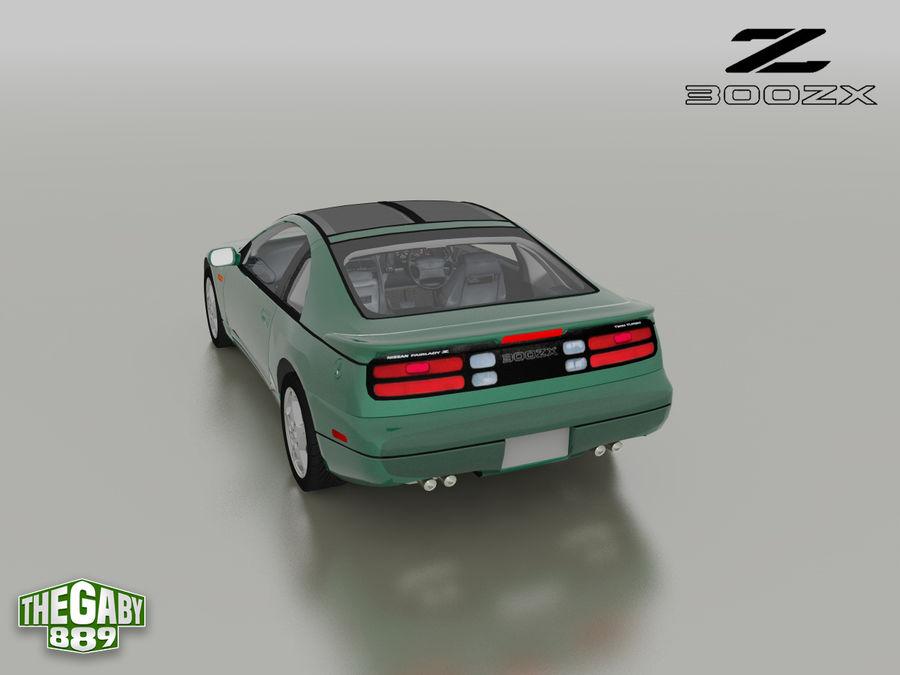 日产300 ZX royalty-free 3d model - Preview no. 2