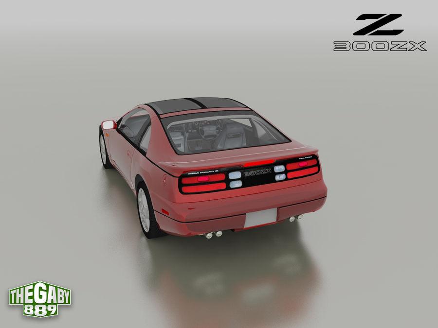 日产300 ZX royalty-free 3d model - Preview no. 8