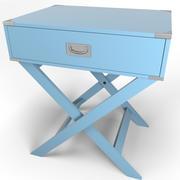 Kenton accent table 3d model