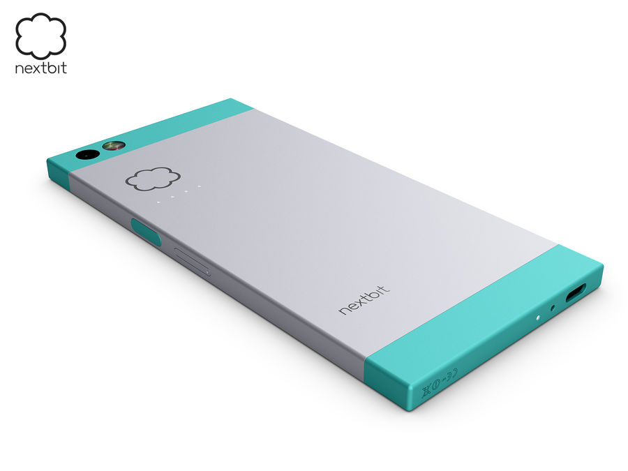 Nextbit Robin-smartphone (+ NURBS) royalty-free 3d model - Preview no. 16
