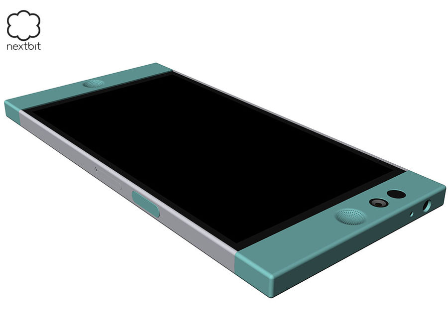 Nextbit Robin-smartphone (+ NURBS) royalty-free 3d model - Preview no. 7