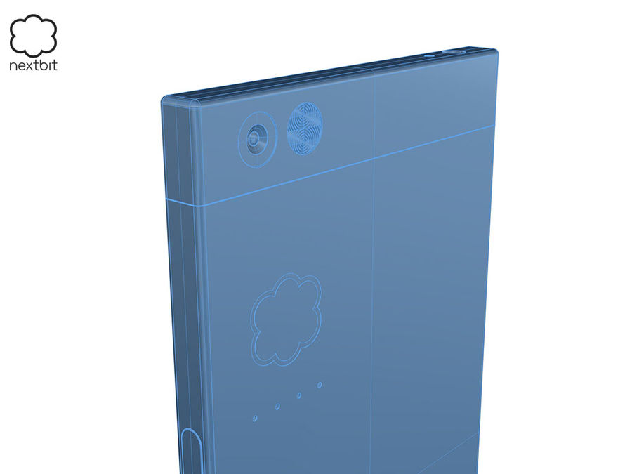 Nextbit Robin-smartphone (+ NURBS) royalty-free 3d model - Preview no. 19