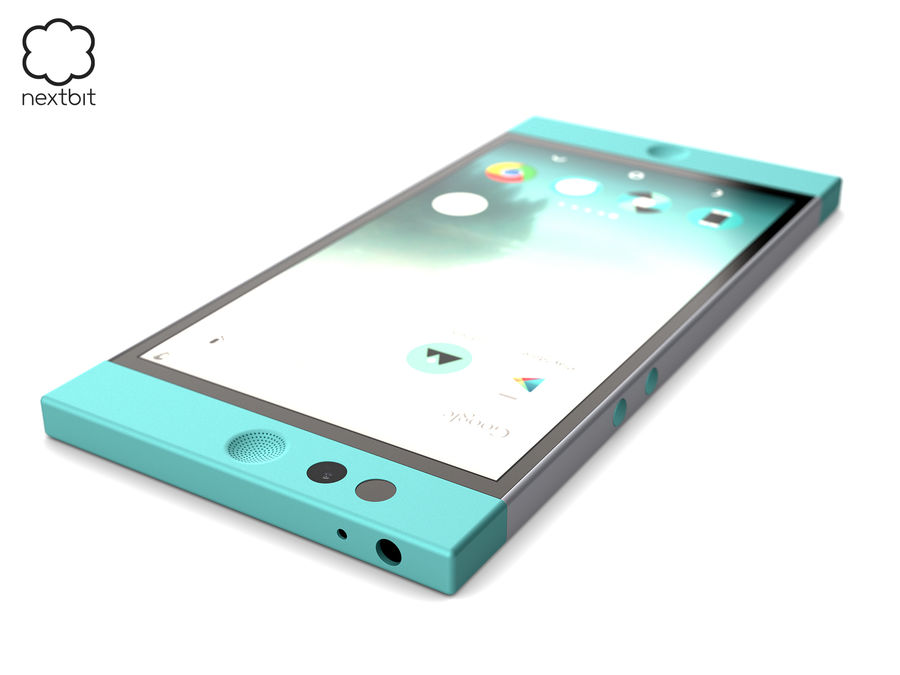 Nextbit Robin-smartphone (+ NURBS) royalty-free 3d model - Preview no. 10