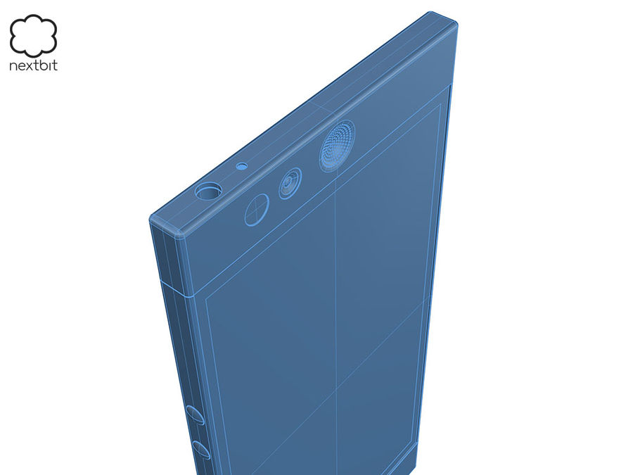 Nextbit Robin-smartphone (+ NURBS) royalty-free 3d model - Preview no. 21