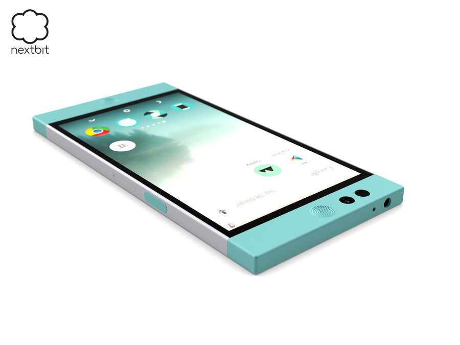 Nextbit Robin-smartphone (+ NURBS) royalty-free 3d model - Preview no. 12