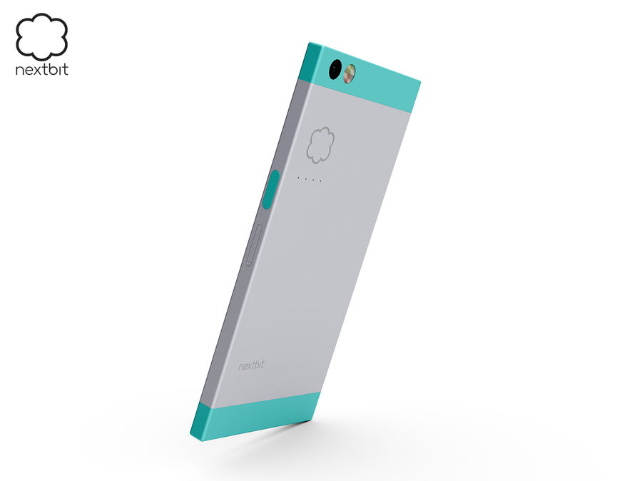 Nextbit Robin-smartphone (+ NURBS) royalty-free 3d model - Preview no. 6