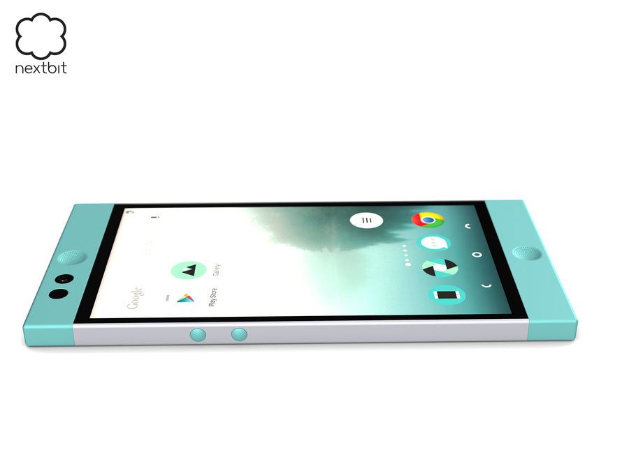 Nextbit Robin-smartphone (+ NURBS) royalty-free 3d model - Preview no. 14