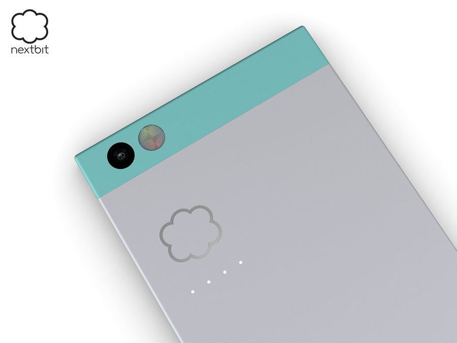 Nextbit Robin-smartphone (+ NURBS) royalty-free 3d model - Preview no. 18