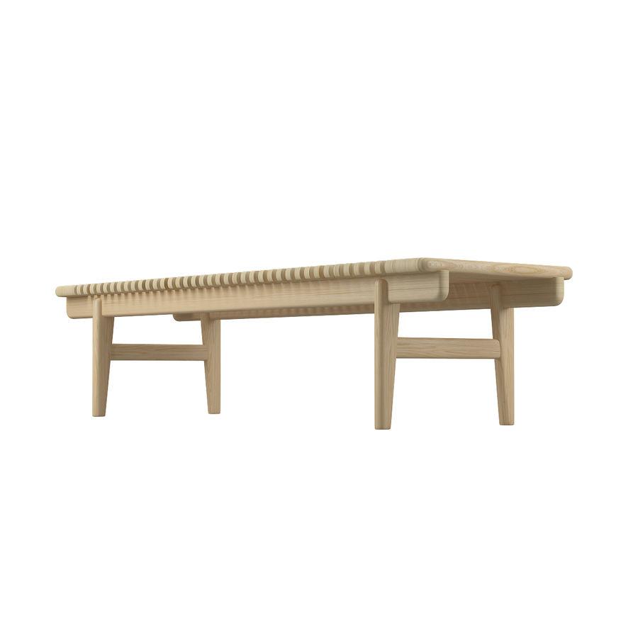 Барная скамья PP589 - Ханс Дж Вегнер royalty-free 3d model - Preview no. 9
