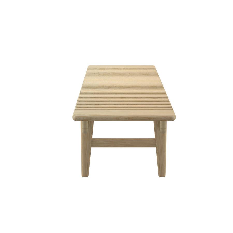 Барная скамья PP589 - Ханс Дж Вегнер royalty-free 3d model - Preview no. 6