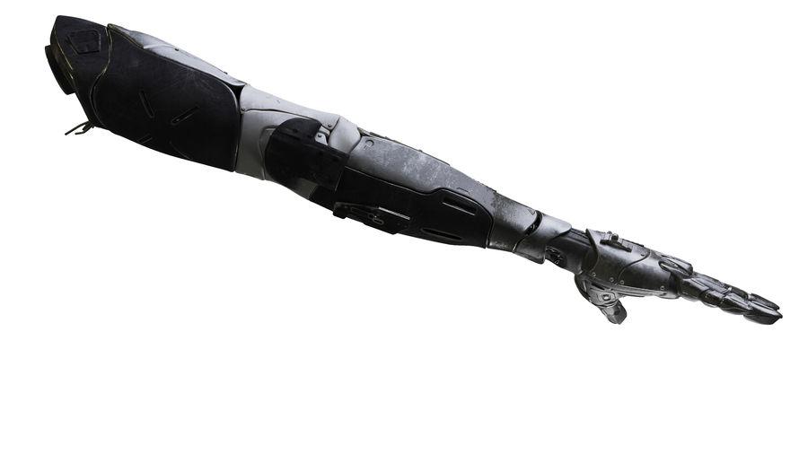Рука робота royalty-free 3d model - Preview no. 7