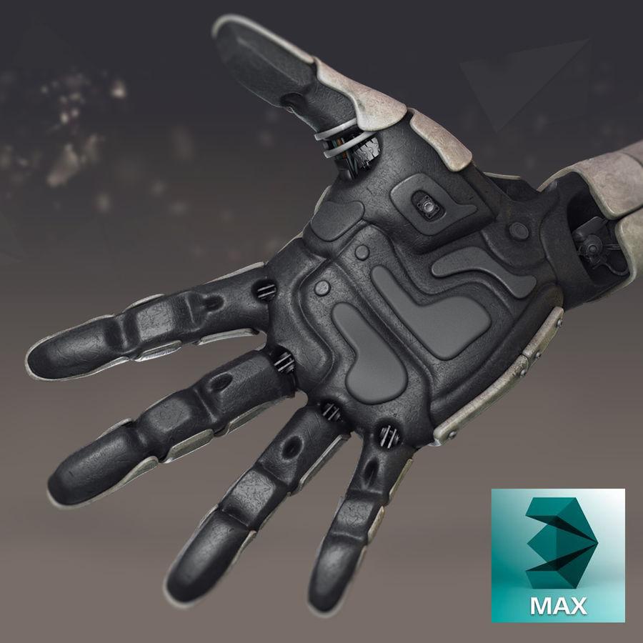 Рука робота royalty-free 3d model - Preview no. 2