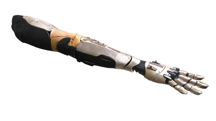 Рука робота royalty-free 3d model - Preview no. 4