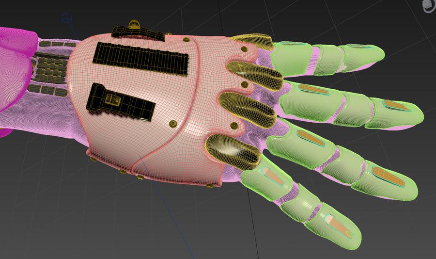 Рука робота royalty-free 3d model - Preview no. 16