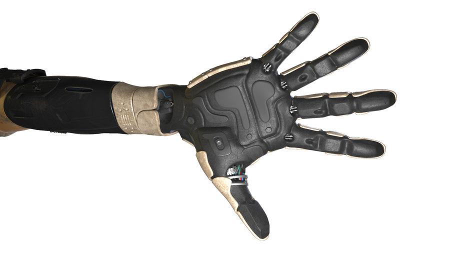 Рука робота royalty-free 3d model - Preview no. 9