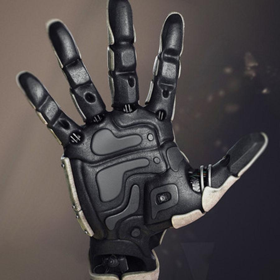 Рука робота royalty-free 3d model - Preview no. 1
