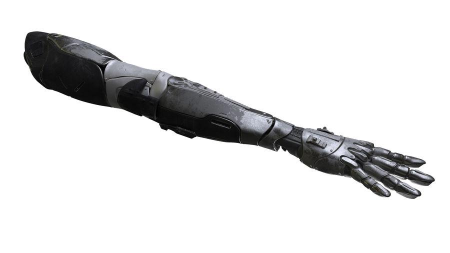Рука робота royalty-free 3d model - Preview no. 6