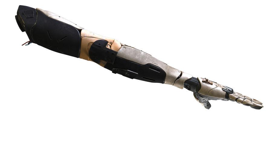 Рука робота royalty-free 3d model - Preview no. 12