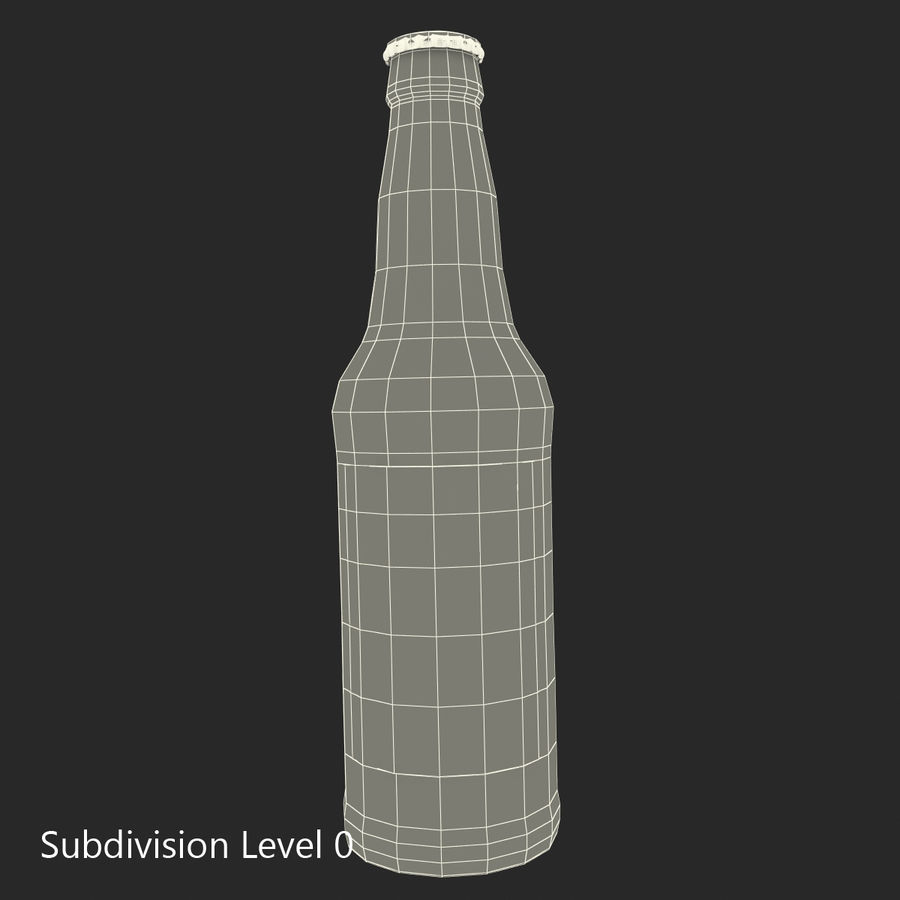 Bottles Collection 2 royalty-free 3d model - Preview no. 51